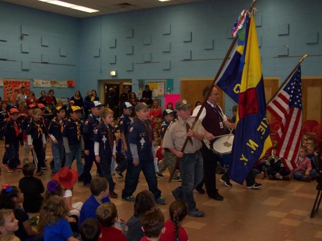 American Legion - Coxsackie Post 166 - Veterans Day 2013